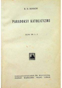 Paradoksy katolicyzmu 1922 r