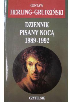 Dziennik pisany nocą 1989  1992