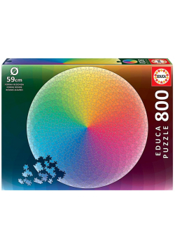 Puzzle 800 Tęcza (okrągłe) G3