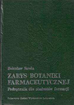 Zarys botaniki farmaceutycznej