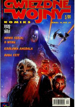 Gwiezdne wojny 5/99 X Wing Królowa Amidala Boba Fett