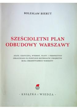 Sześcioletni plan odbudowy Warszawy 1950 r.
