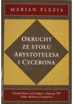 Okruchy ze stołu Arystotelesa i Cycerona