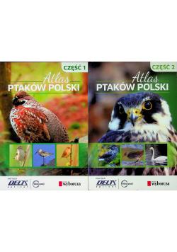 Atlas Ptaków Polski 2 części