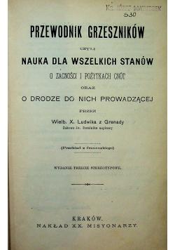 Przewodnik grzeszników czyli nauka dla wszystkich stanów 1861r