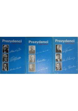 Prezydenci tomy od 1 do 3