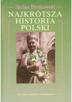 Najkrótsza historia Polski