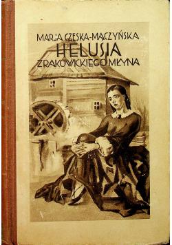 Helusia z Rakowickiego Młyna 1929 r.