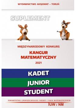 Matematyka z wesołym kangurem - Suplement 2021