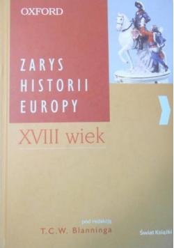 Zarys historii Europy XVIII wiek