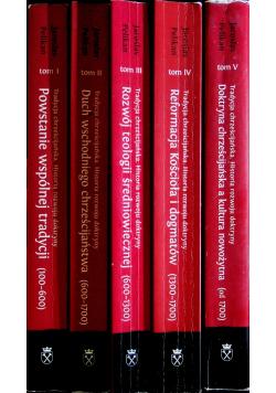 Tradycja chrześcijańska Historia rozwoju doktryny 5 tomów