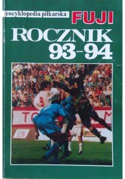 Encyklopedia piłkarska Fuji Rocznik 93 94