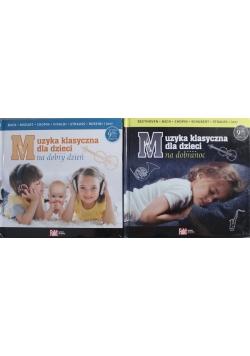 Muzyka klasyczna dla dzieci na dzień dobry/ na dobranoc zestaw 2 CD