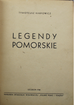 Legendy Pomorskie 1948 r