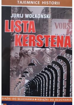 Lista Krestena Audiobook NOWY