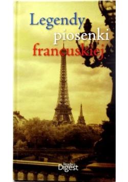 Legendy piosenki francuskiej  Płyty CD