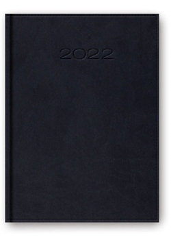 Kalendarz 2022 A5 dzienny z registrem oprawa vivella granat