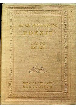 Mickiewicz Poezje tom I i II reprint z około 1822r