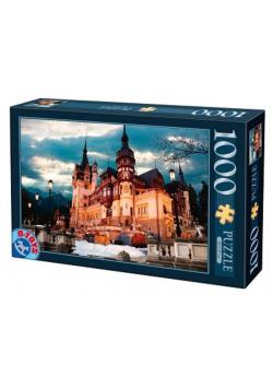 Puzzle 1000 Rumunia, Zamek Peles
