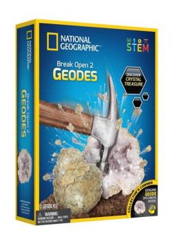 Rozłup dwie geody Nat Geo