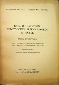Katalog Zabytków Budownictwa Przemysłowego W Polsce