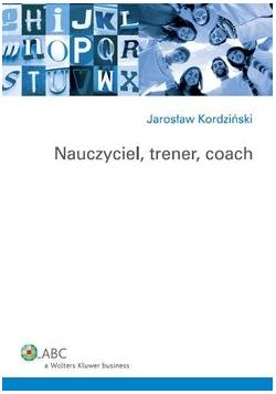Nauczyciel trener coach