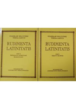 Rudimenta Latinitatis Część I i II