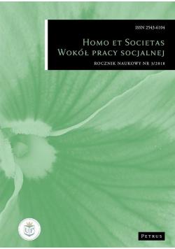 Homo et societas Wokół pracy socjalnej nr 3