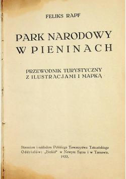 Park Narodowy w Pieninach 1933 r.