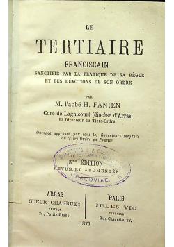 Le Tertiaire 1877 r.