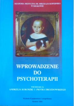 Wprowadzenie do psychoterapii
