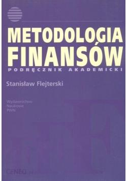 Metodologia finansów Podręcznik akademicki