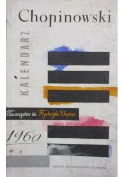 Kalendarz Chopinowski 1960