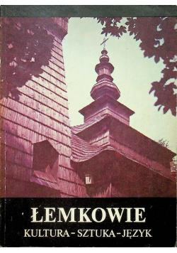 Łemkowie kultura sztuka język