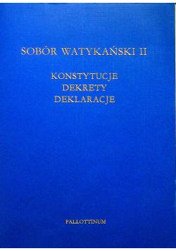 Sobór watykański II Konstytucje