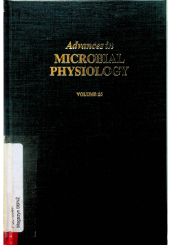 Avances in microbial Physiology  vol 26