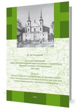 Katalog kościołów oraz duchowieństwa... Zeszyt B