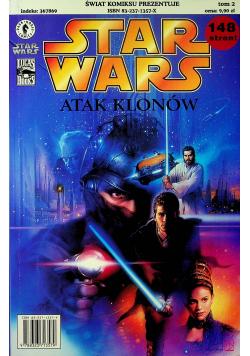 Star Wars Atak klonów tom II