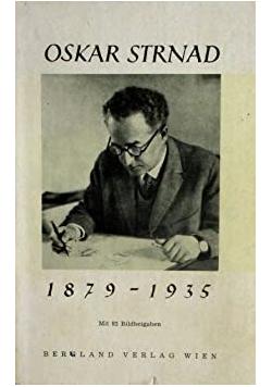 Oskar Strnad 1879 - 1935