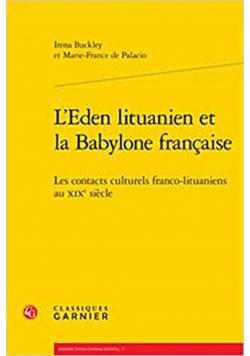 LEden lituanien et la Babylone francaise