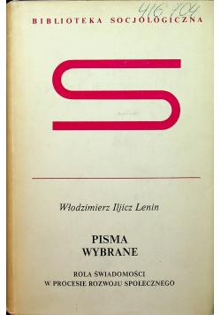 Lenin Pisma wybrane