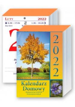 Kalendarz 2022 zdzierak Domowy KASTOR