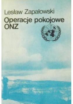 Operacje pokojowe ONZ