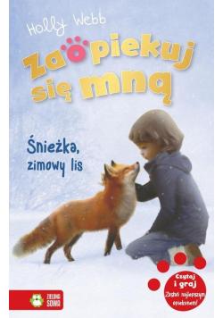 Zaopiekuj się mną Śnieżka zimowy lis