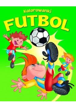 Kolorowanki Futbol. Zeszyt zielony