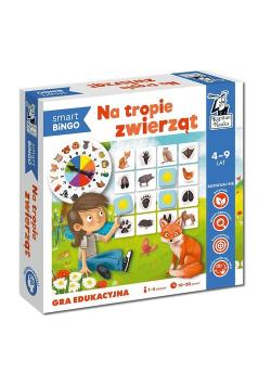 Na tropie zwierząt. Smart bingo. Gra edukacyjna