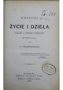 Życie i dzieła 1879 r.