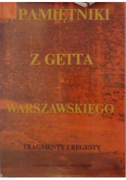 Pamiętniki z getta warszawskiego