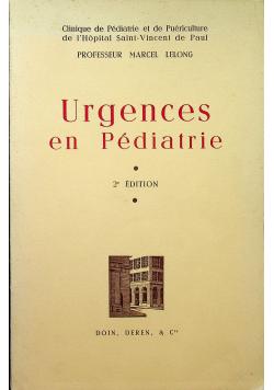 Urgences en Pediatrie