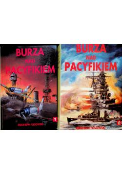 Burza nad Pacyfikiem 2 tomy
